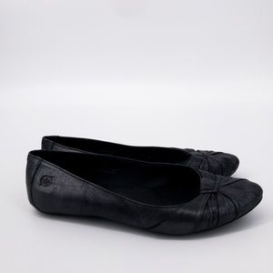 Born : Metallic 'Adele' Leather Ballet Flats 6.5